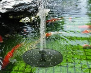 Comparatif meilleure fontaine solaire